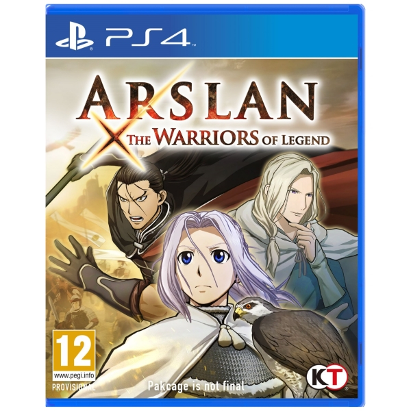 Warriors Orochi 4 Facial Expression: Arslan: The Warriors Of Legend PS4