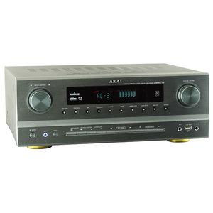 Receiver AKAI AS005RA-750BT, Bluetooth, USB, argintiu