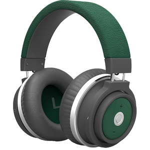 Casti PROMATE Astro, Bluetooth, Over-Ear, Microfon, verde
