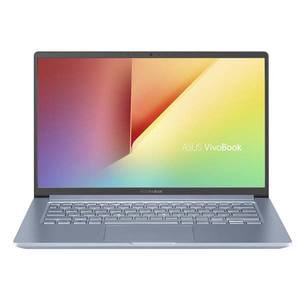 "Laptop ASUS VivoBook 14 X403FA-EB021, Intel Core i5-8265U pana la 3.9GHz, 14"" Full HD, 8GB, SSD 512GB, Intel UHD Graphics 620, Endless, Silver Blue"