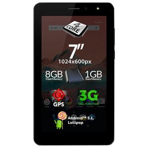 Tableta ALLVIEW AX501Q, Wi-Fi + 3G, Quad Core Cortex A7 1.3GHz, 8GB, 1GB, Android Lollipop 5.1, negru