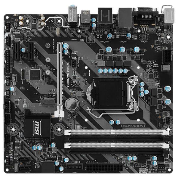 Placa de baza MSI B250M BAZOOKA, socket 1151, 4xDDR4, 6xSATA3, mATX
