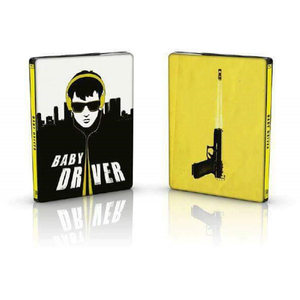 Baby Driver - Blu-ray 2D + CD original Soundtrack (Steelbook)