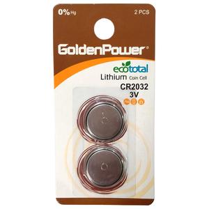 Baterii litiu GOLDEN POWER CR-2032, 2 bucati