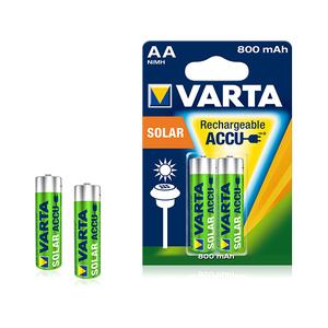 Acumulatori solar VARTA AA, NiMh 800 mAh, 2 bucati