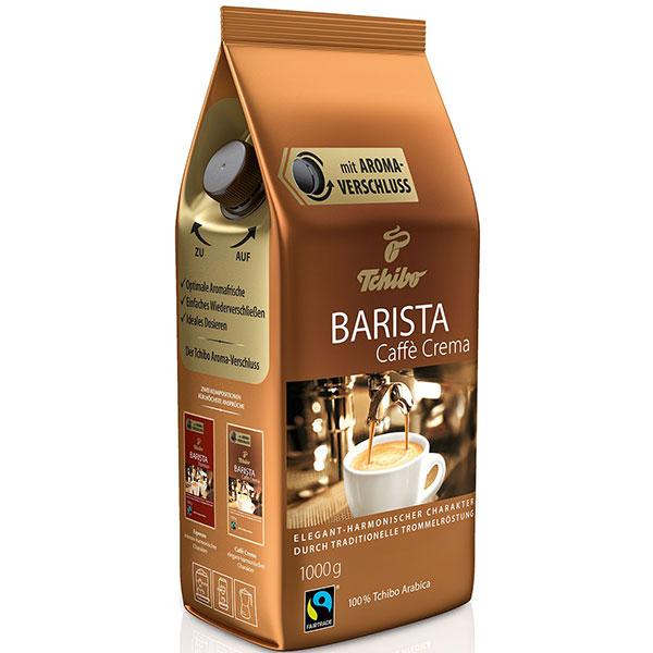 Cafea boabe TCHIBO Barista Cafe Crema, 1 kg