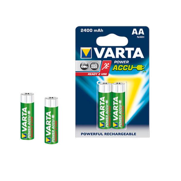 Acumulatori AA VARTA ACCR62500B2, 2 bucati