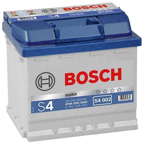 Baterie auto BOSCH 0092S40020, 52AH, 470A