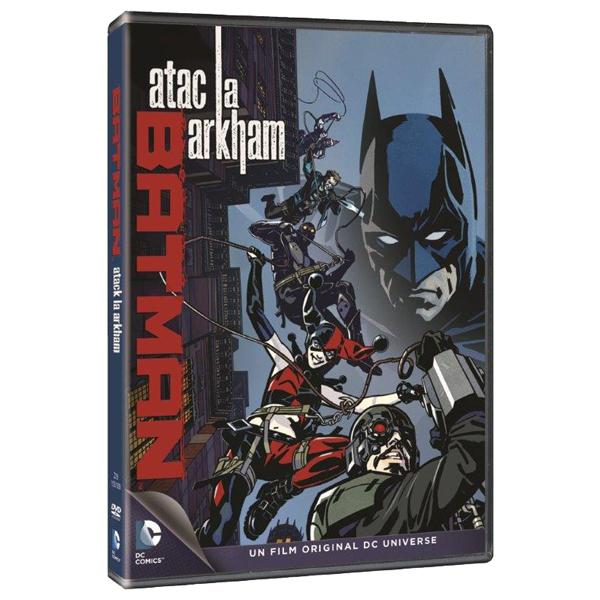 Batman - Atac la Arkham DVD