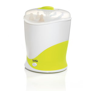 Sterilizator de biberoane LAICA Baby Line BC1005, 0.6l, alb - verde