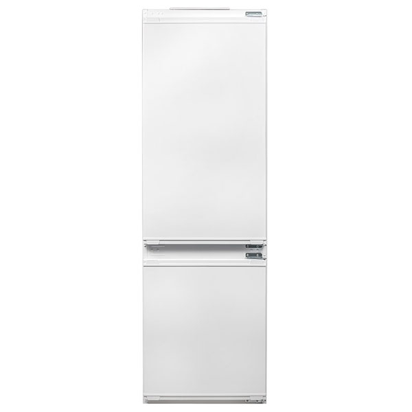 Combina frigorifica incorporabila BEKO BCHA275K2S, 262 l, H 177.8 cm, Clasa A+, alb