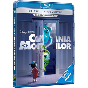Compania monstrilor Blu-ray 3D + 2D
