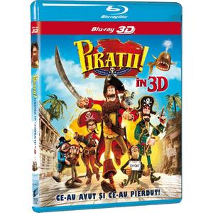 Piratii ! O banda de neispraviti Blu-ray 3D