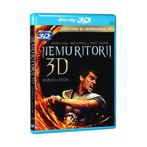 Nemuritorii 3D: Razboiul Zeilor Blu-ray 3D + 2D