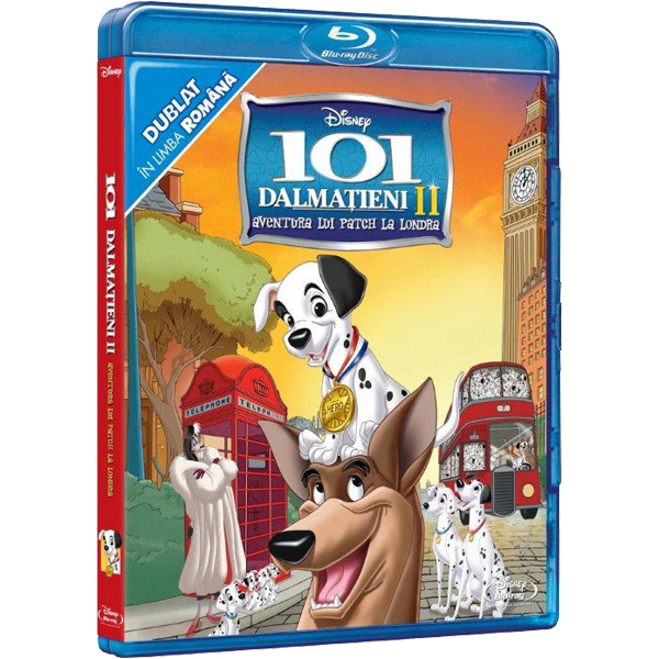 101 Dalmatieni 2 Aventura Lui Patch La Londra Blu Ray