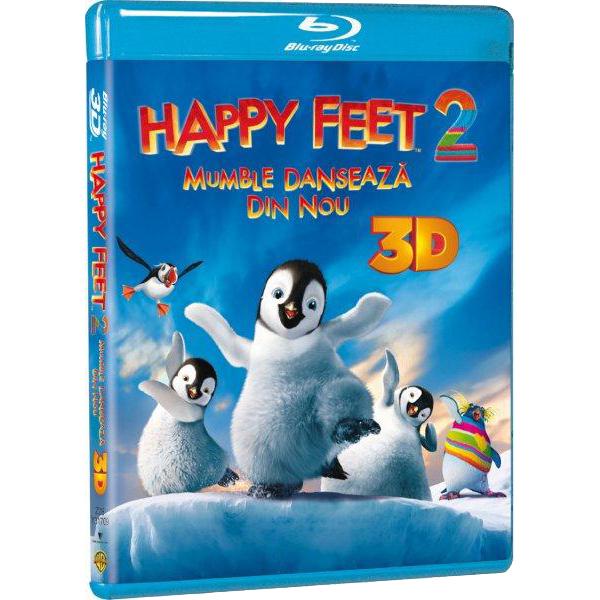 Happy Feet 2 - Mumble danseaza din nou Blu-ray 3D + 2D