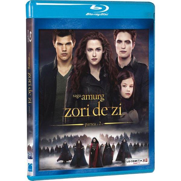 Saga Amurg - Zori de zi 2 Blu-ray