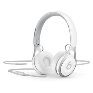 Casti BEATS EP, microfon, on ear, cu fir, alb