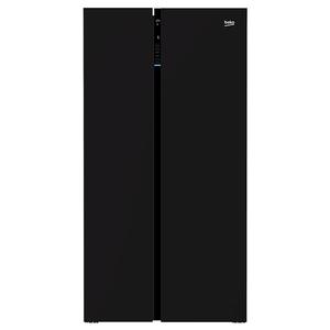 Side-by-Side BEKO GN163130ZGB, 558 l, 179 cm, A++, negru