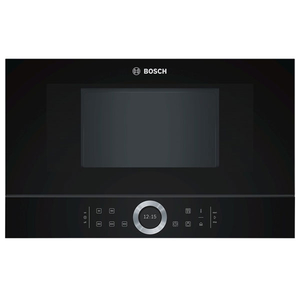 Cuptor cu microunde incorporabil BOSCH BFL634GB1, 21l, 900W, negru