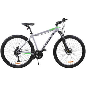 "Bicicleta Mountain Bike Omega Spark, 27.5"", gri"