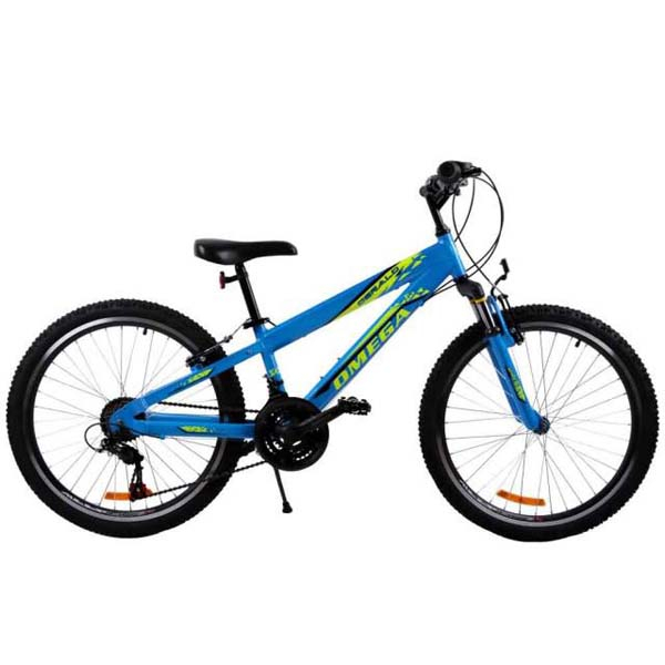 "Bicicleta copii Omega Gerald, 24"", albastru"