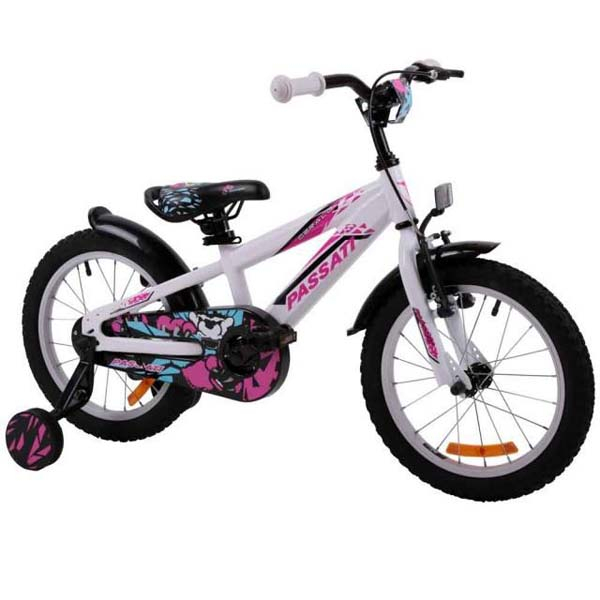 """Bicicleta copii Omega Gerald 2018, 20"""", alb"""