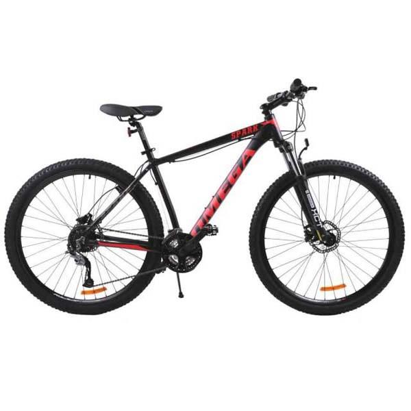 "Bicicleta Mountain Bike Omega Spark, 27.5"", negru"