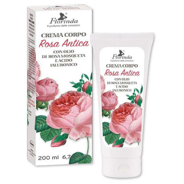 Crema regeneranta de corp LA DISPENSA Florinda, cu ulei de Rosa Mosqueta, 200ml