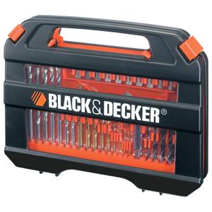 Set 35 accesorii insurubare/ gaurire BLACK & DECKER A7152