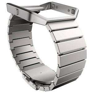 Bratara pentru FITBIT Blaze, Metal Link, Silver