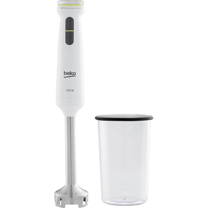 Mixer vertical BEKO Foodster HBA7606W, 1l, 700W, 12 trepte viteza, alb
