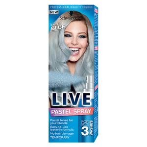 Spray colorat pentru par SCHWARZKOPF Live Color, Baby Blue, 125 ml