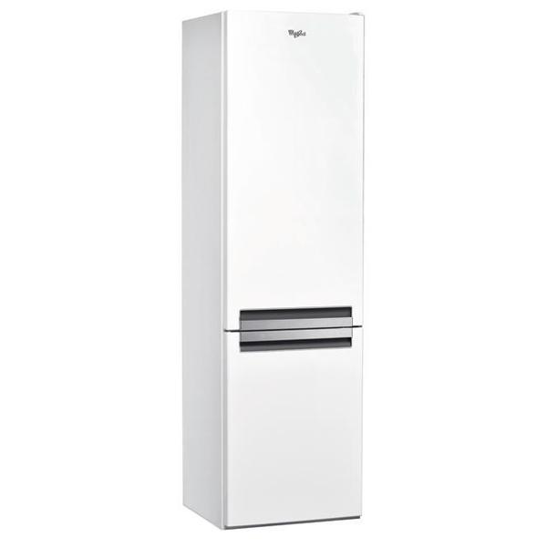 Combina frigorifica WHIRLPOOL BLF 9121 W, LessFrost, 369 l, H 201 cm, Clasa A+, 6th Sense, alb