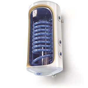 Boiler termo-electric vertical TESY BiLight cu 1 serpentina GCV9S 1204420 B11 TSRCP, 120l, 2000W, 8 bar, alb