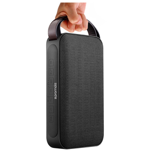 Boxa portabila PROMATE Groove, Bluetooth, microSD, negru
