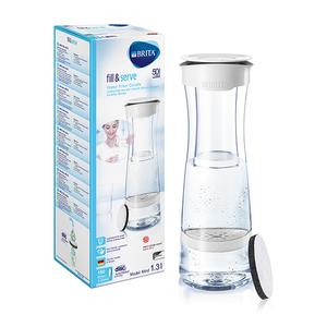 Carafa filtranta BRITA Fill & Serve BR1020115, 1.3l, alb-transparent