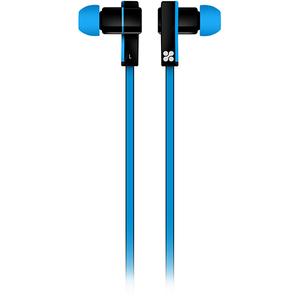 Casti PROMATE Brazen, Cu Fir, In-ear, Microfon, albastru
