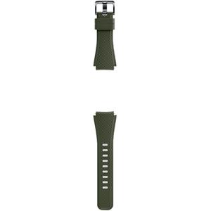Curea pentru bratara SAMSUNG Gear S3, silicon, Kahki