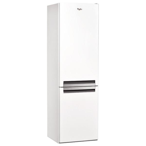 Combina frigorifica WHIRLPOOL BSNF 8121 W, No Frost, 315 l, H 188 cm, Clasa A+, 6th Sense, alb