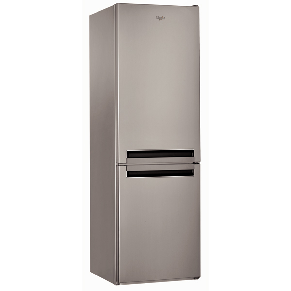 Combina frigorifica WHIRLPOOL BSNF 8151 OX, No Frost, 315 l, 185.5 cm, Clasa A+, inox