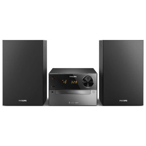 Microsistem audio PHILIPS BTM2310/12, 15W, Bluetooth, USB, CD, Radio FM, negru