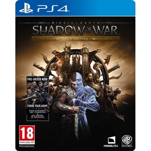 Middle-earth: Shadow of War - Gold Edition PS4