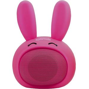 Boxa portabila pentru copii, PROMATE Bunny, Bluetooth, roz