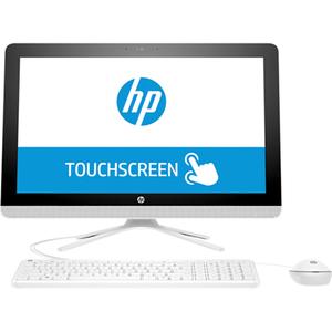 "Sistem PC All in One HP 22-c0005nq, 21.5"" Full HD Touch, Intel Core i3-8130U pana la 3.4GHz, 4GB, 1TB, Intel UHD Graphics 620, Free Dos"