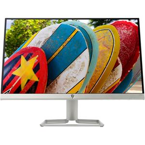 """Monitor LED IPS HP 3KS60AA, 21.5"""", Full HD, argintiu"""