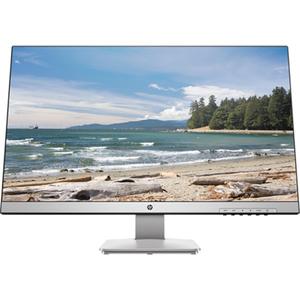 """Monitor LED TN HP 3FV90AA, 27"""", QHD, 60Hz, argintiu"""