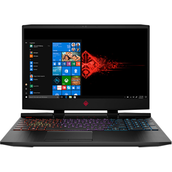 "Laptop Gaming Omen by HP 15-dc0006nq, Intel Core i5-8300H pana la 4.0GHz, 15.6"" Full HD, 8GB, HDD 1TB + SSD 128GB, NVIDIA GeForce GTX 1050 4GB, Windows 10 Home"
