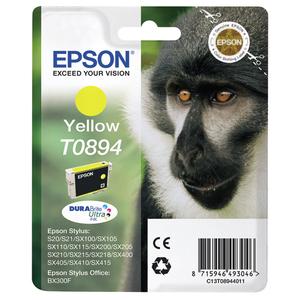 Cartus yellow EPSON DuraBrite Ultra Ink T0894
