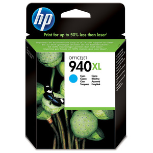 Cartus HP C4907AE INK 940XL, cyan